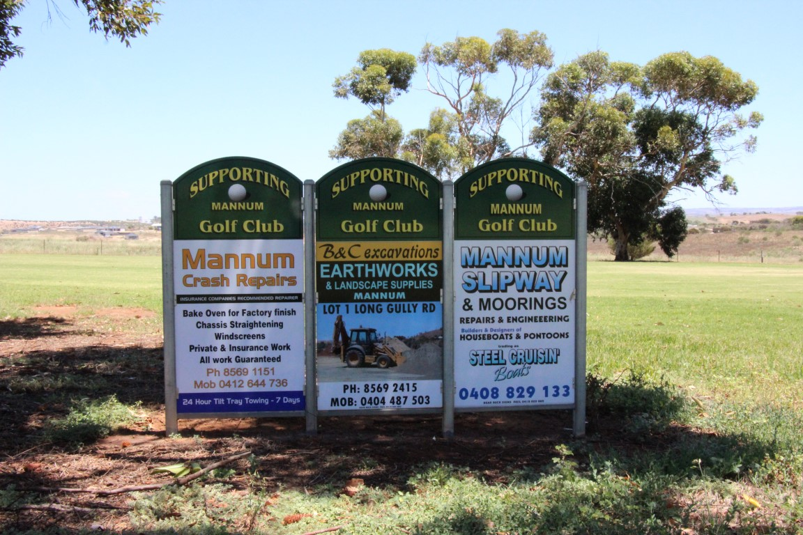 Sponsors - Mannum Crash Repairs - B & C Excavations - Mannum Slipway & Moorings (Medium)